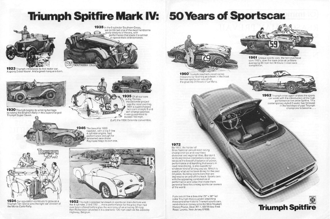 Triumph Spitfire Advertising from 1962 to 1980 - page 5